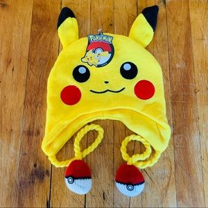 Pikachu Pokemon Hat ⚡️ NWT